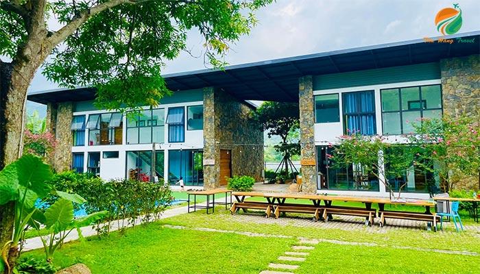 An Vui Cottage khu villa homestay giá rẻ ở Ba Vì