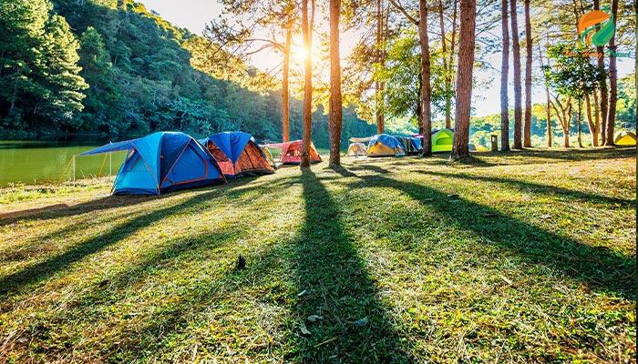 Hoạt động cắm trại Eduland Ba Vì