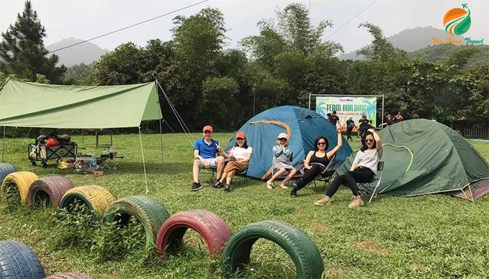 Thung Lũng Bản Xôi thích hợp cho chuyến dã ngoại căm trại