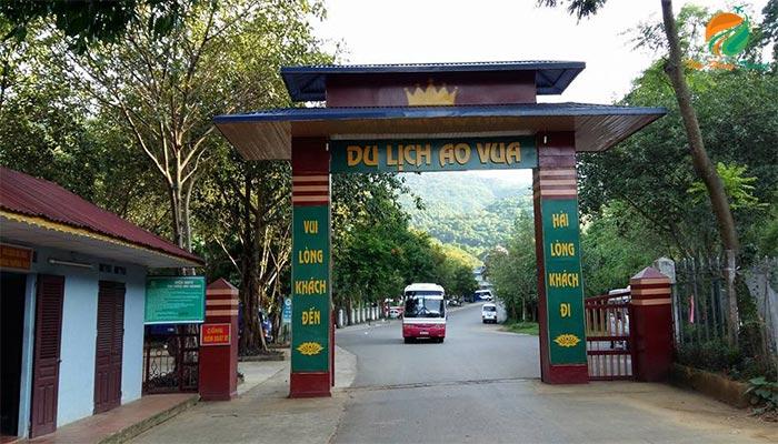 Khu du lịch Ao Vua Ba Vì