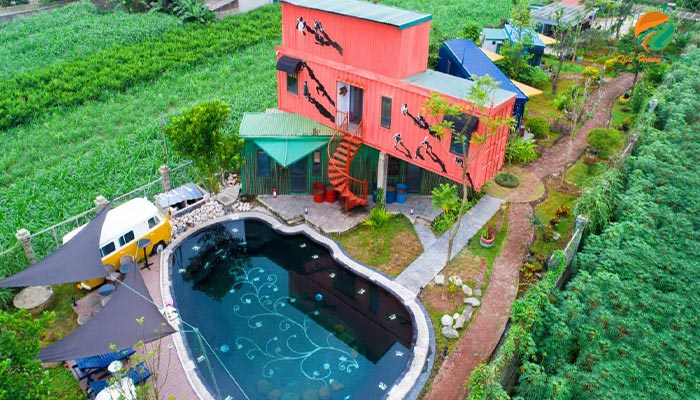 Top 10 homestay đẹp Ba VìThe Factory Homestay Ba Vì