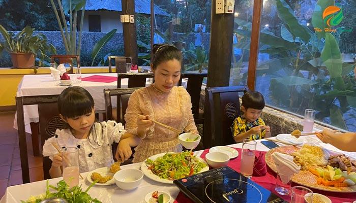 Nhà hàng Tản Đà Spa resort