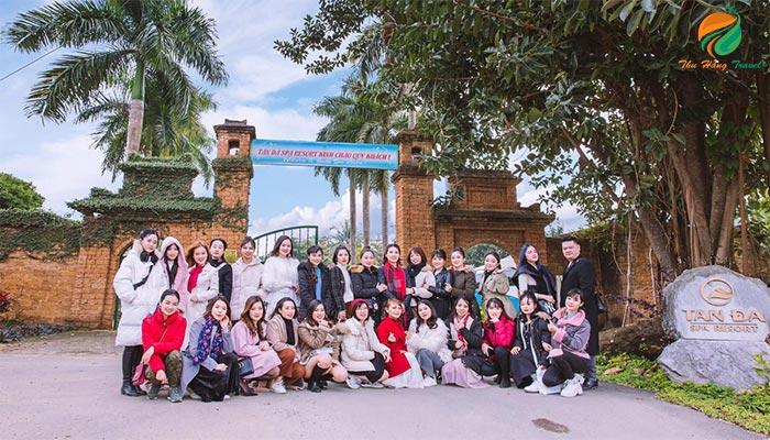 Họp lớp tại khu du lịch Tản Đà Spa Resort